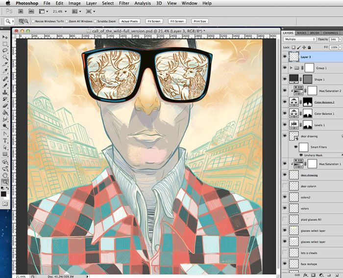 Illustration is nearly finished